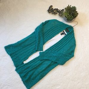 Fever Turquoise Green Cardigan